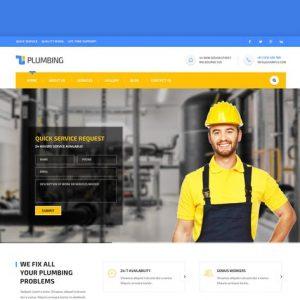 Handyman: Construction, Building & Plumbing HTML