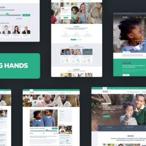 Helping Hands - Charity / NonProfit HTML Template