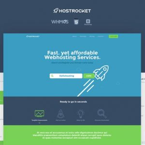 Hostrocket WHMCS & HTML Template