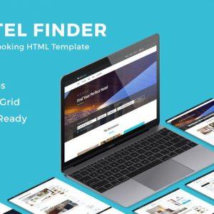 Hotel Finder - Online Booking HTML Website Templat