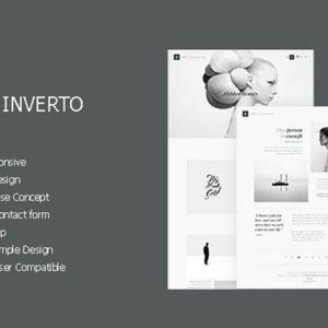 Inverto - Minimal HTML Theme