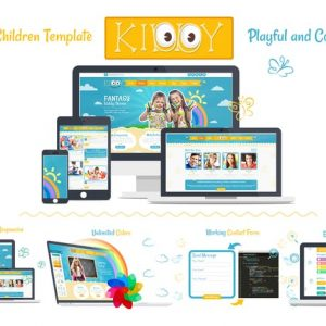 Kiddy Children HTML Template