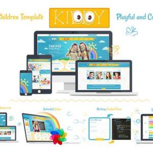 Kiddy Children HTML Template
