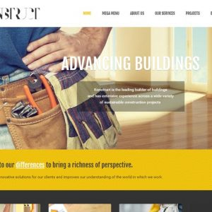 Konstruct - Html Construction, Building And Busine