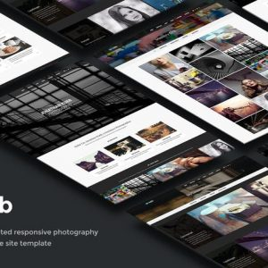 Kubb - Photography & Magazine Site Template