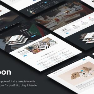 Kwoon – Multipurpose Single/Multi-page Template