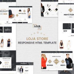 Loja - Responsive HTML Template
