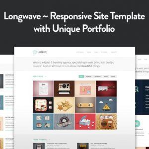 Longwave - Responsive HTML Template