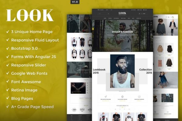 Look HTML5 Template
