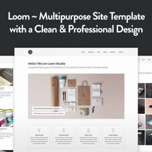 Loom - Multipurpose Responsive HTML5 Template