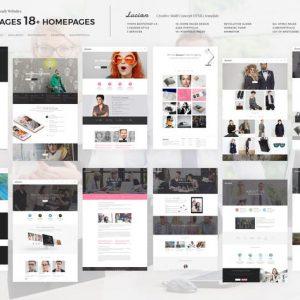 Lucian - Multi-Concept Creative HTML5 Template