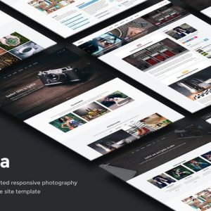 Lydia - Photography & Magazine Site Template