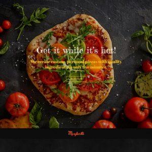 Margherita - Online Ordering Pizza Restaurant HTML