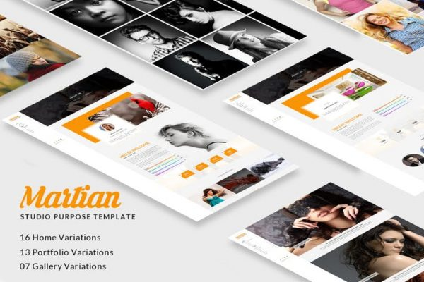 Martian - Studio Purpose HTML Template