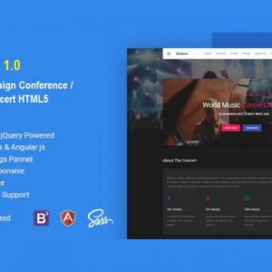 Mateve Event / Conference / Concert HTML Template