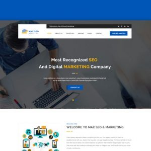 Max Seo - Seo & Marketing HTML Template