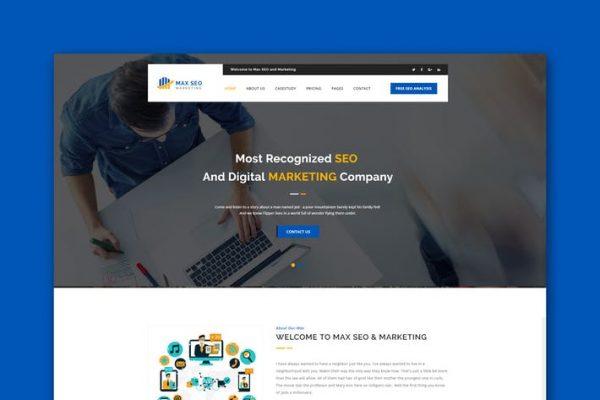 Max Seo - Seo & Marketing HTML Template