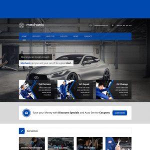 Mechanic - Car Service & Repair Workshop Template
