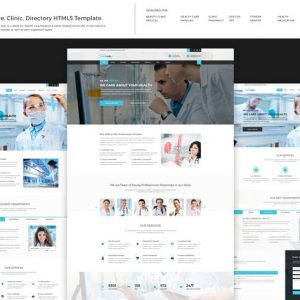 Medical - Health Care, Clinic HTML5 Template