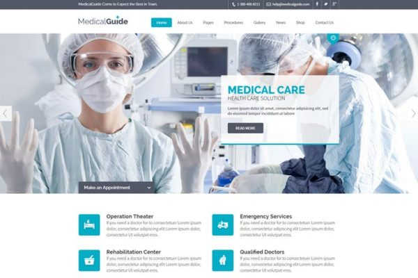 MedicalGuide - Health and Medical Template