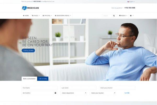 Medican - Health, Medical,Booking, Hospital