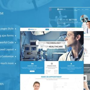 Medicom - Medical & Health Template