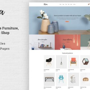 Mina - Responsive Furniture Handmade Shop Template