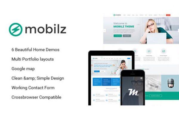 Mobilz - Responsive Multi-Purpose HTML Template