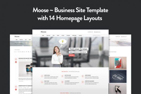 Moose - Multipurpose Responsive HTML5 Template