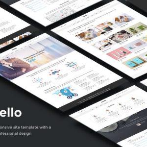 Morello - Multipurpose Business Site Template