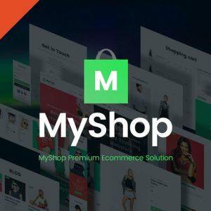 MyShop - eCommerce HTML website Template