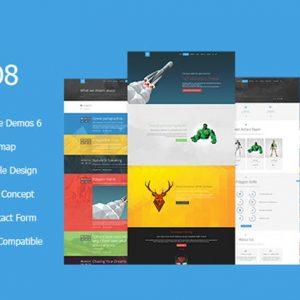 NO8 HTML - Creative Agency Portfolio Theme