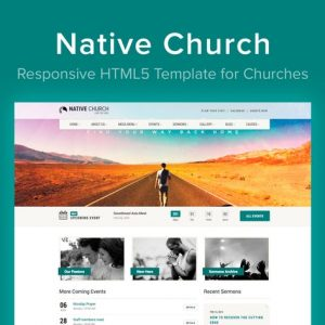 Native Church - HTML5 Template for Churches