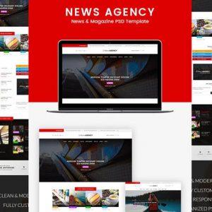 News Agency - News Magazine Newspaper HTML