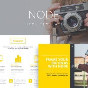 Node - Responsive Portfolio Template