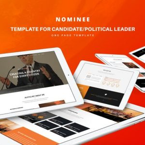 Nominee - Template for Candidate/Political Leader