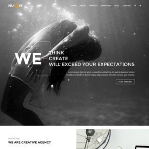 Nuovi - Creative Agency/Personal HTML Template