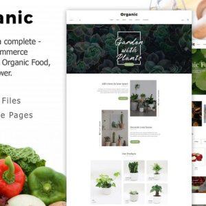 Organic - Responsive Organic Food & Store Template