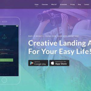 Papi App HTML Template