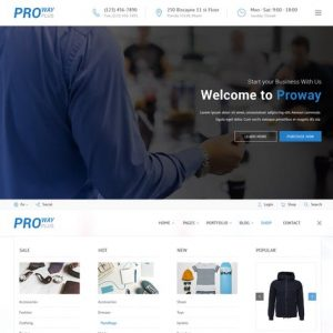 ProWay Plus - Business, Finance HTML Template