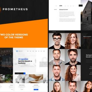 Prometheus – Multipurpose HTML Template