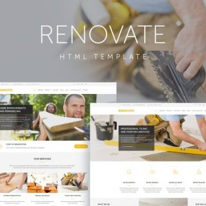 Renovate - Construction Renovation Template