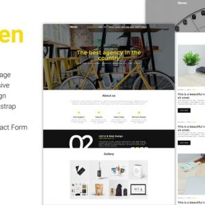 Reven - Creative Agency One & Multi Page
