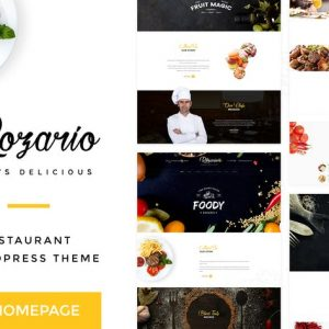Rozario - Restaurant & Food HTML Template