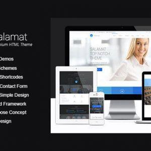Salamat | Multi-purpose HTML Template