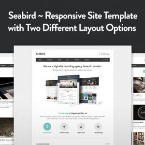 Seabird - Multipurpose Responsive HTML5 Template
