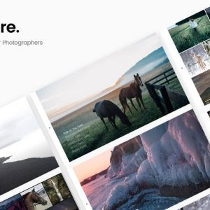 Sobre - Minimal Photography Portfolio HTML Templat