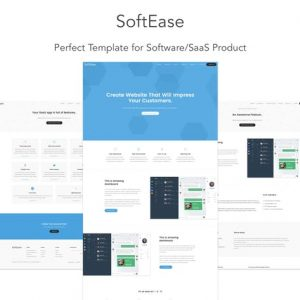 SoftEase - Multipurpose Software / SaaS Template