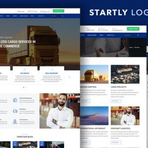 Start.ly — Logistics & Cargo Bootstrap Template