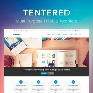 Tentered - MultiPurpose HTML5 Template